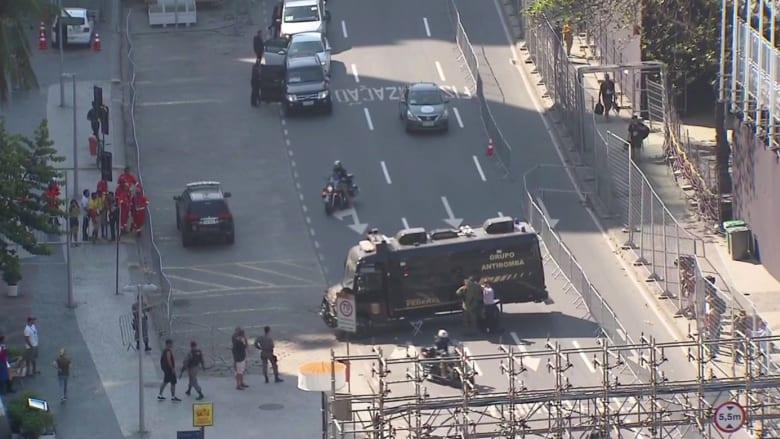الأمن البرازيلي يفجر حقيبة مشبوهة قرب مضمار الدراجات الأولمبية