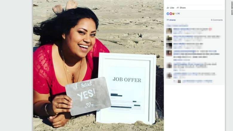 فتاة تعثر على وظيفة بعد أشهر من البحث.. شاهد ماذا فعلت!