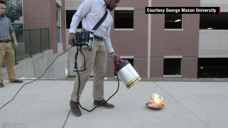 آخر الابتكارات.. مكبر صوت لإخماد الحرائق