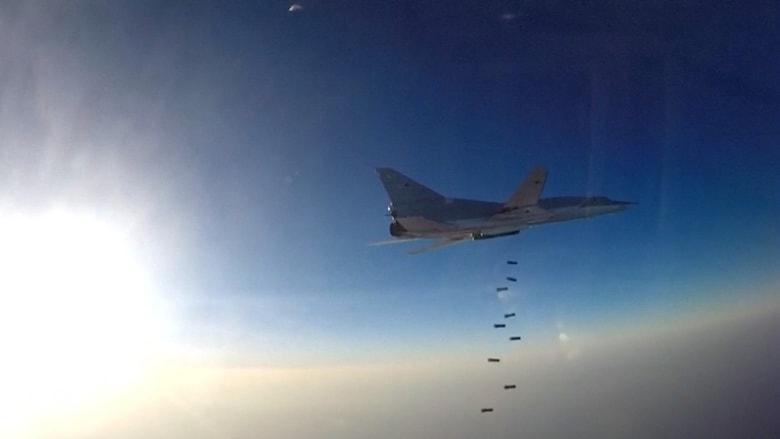 شاهد.. قاذفات روسية تقلع من إيران وتشن غارات في سوريا
