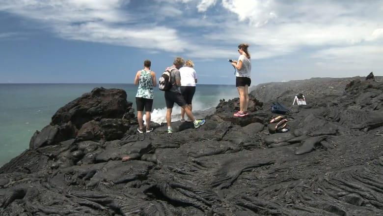 حمم أنشط براكين العالم تجذب السياح إلى هذه الجزيرة