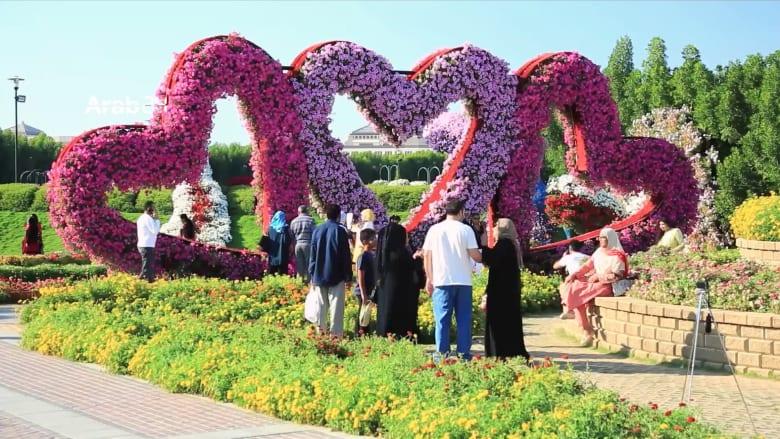 """لماذا وصفت حديقة الزهور في دبي بـ """"المعجزة""""؟"""