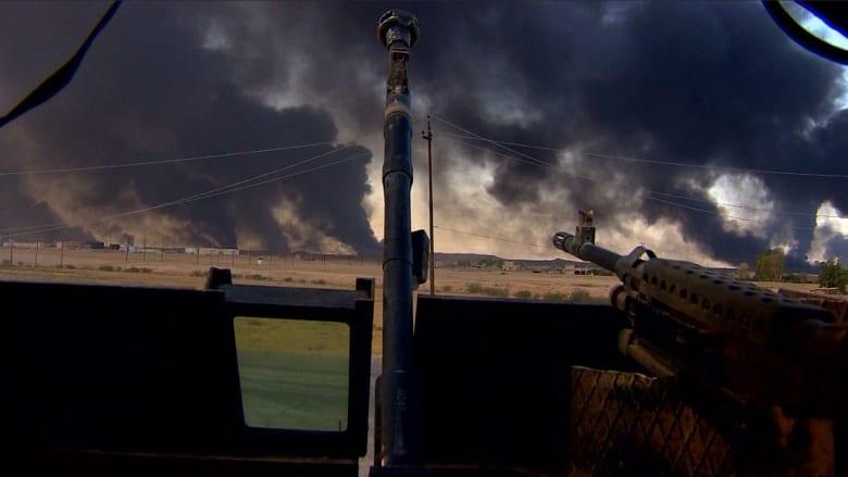 عدسة CNN من صفوف القوات العراقية والكردية.. كيف تسير خطة تحرير الموصل؟