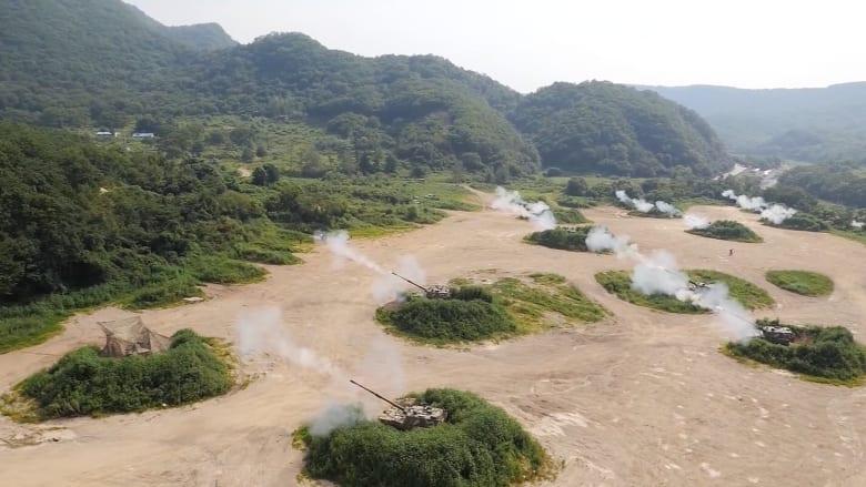 مناورات أمريكية كورية جنوبية وبيونغ يانغ تهدد بضربة نووية