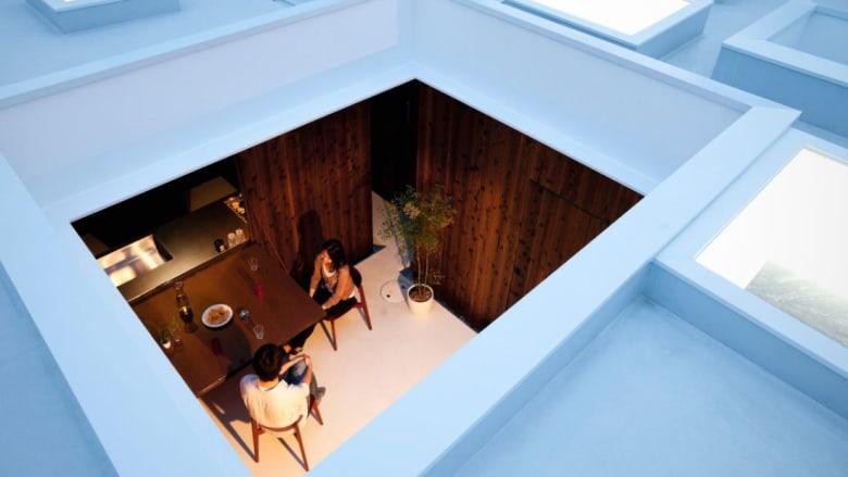 مساحات صغيرة بتصاميم كبيرة.. في منازل اليابان