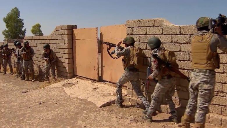 القوات العراقية تسيطر على المجمع الحكومي في القيارة وتستعد لمعركة الموصل