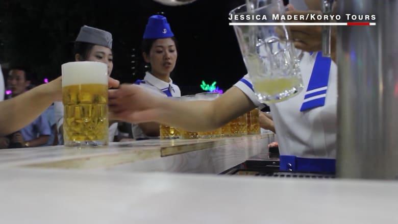 تفضل إلى مهرجان البيرة الأول في كوريا الشمالية!