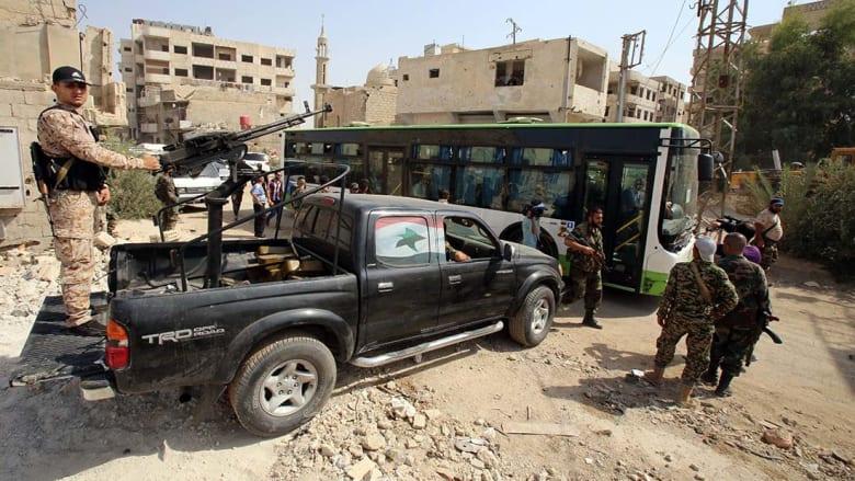 """الأمم المتحدة تتنصل من اتفاق """"تهجير"""" سكان داريا بعد 4 سنوات من الحصار"""