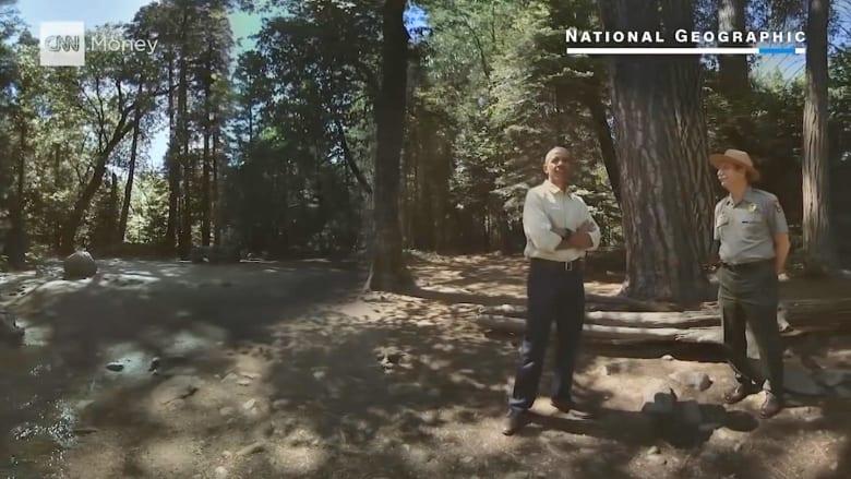 """""""رحلة افتراضية"""" مع أوباما إلى حديقة يوسيميتي"""
