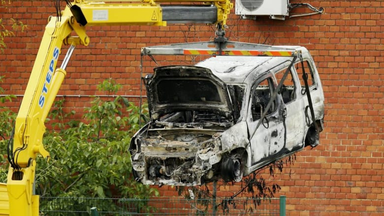 السلطات البلجيكية تعتقل خمسة أشخاص إثر تفجير معهد للتحقيقات الأمنية