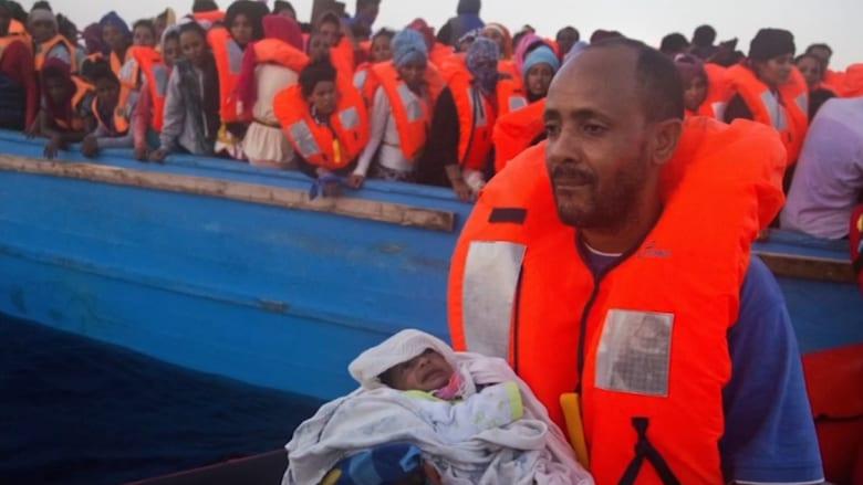 خفر السواحل الإيطالية تنقذ 6500 مهاجر في البحر المتوسط