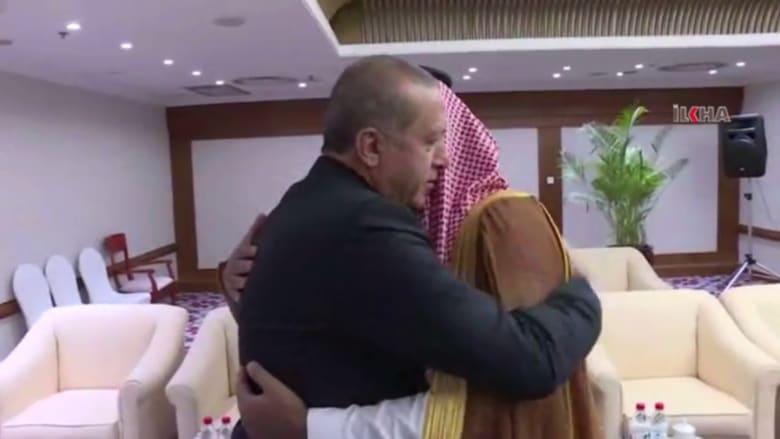 شاهد: أردوغان يرحب بالأمير محمد بن سلمان.. بالعربية