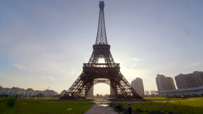 أهلاً بكم في مدينة باريس.. في الصين