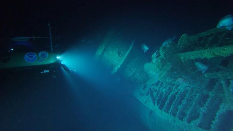 العثور على حطام سفينتين غرقتا في الحرب العالمية الثانية
