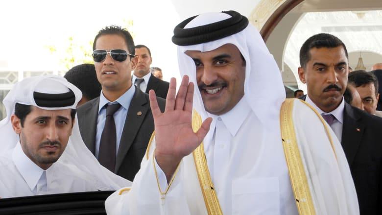 أمير قطر لرئيس إيران: تسوية الخلافات عبر الحوار ممكنة