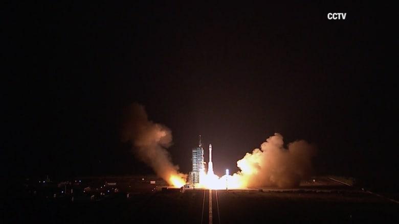 الصين تطلق صاروخاً فضائياً وتطمح لإنشاء محطتها الفضائية الخاصة