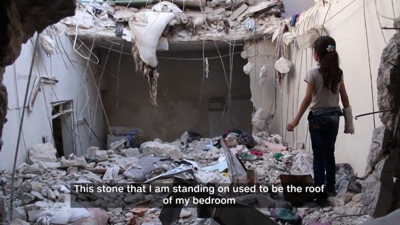 بعد هدنة سوريا.. تعرفوا إلى الطفلة ضحى التي نجت من قذيفة