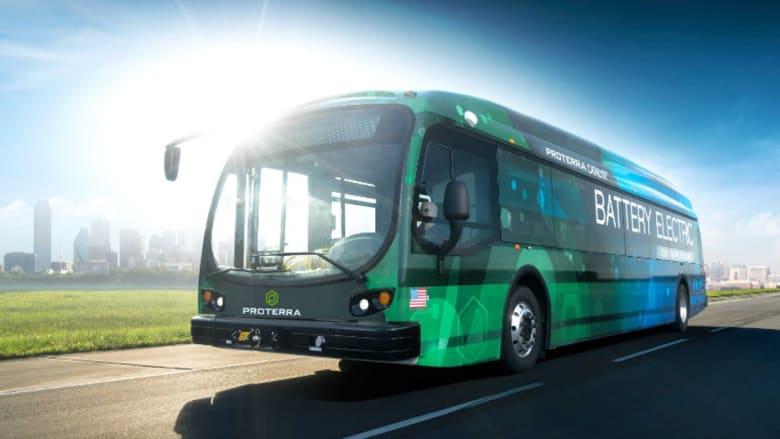 هذه الحافلة الكهربائية تستطيع السير لـ 560 كيلومتراً دون إعادة شحنها