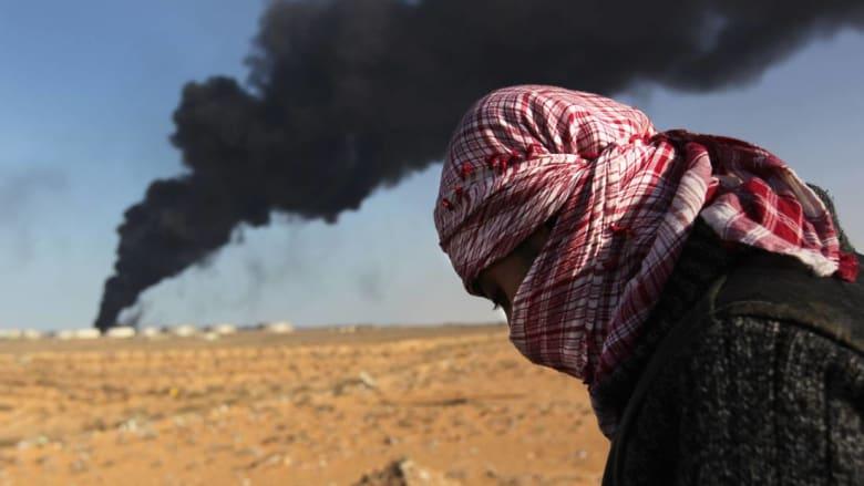 تضارب أنباء حول نتيجة الاشتباكات بين قوات حفتر وحرس المنشآت النفطية