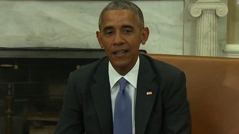 أوباما يمازح الصحفيين حول مكان ولادته