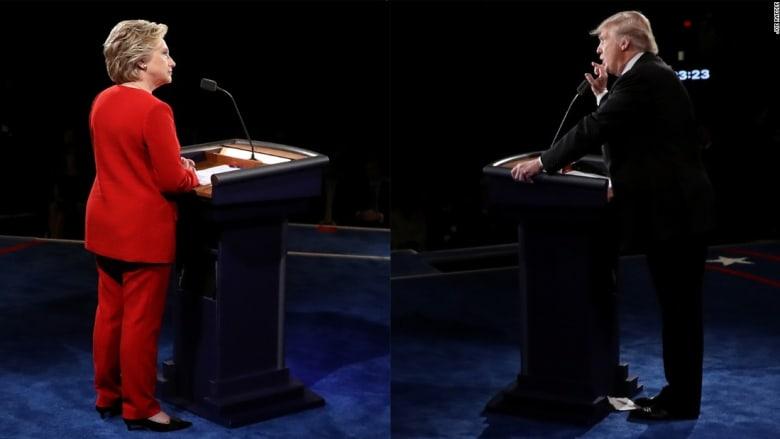 """الملياردير ترامب في المناظرة الرئاسية: """"أنا ذكي"""" لعدم دفعي الضرائب"""
