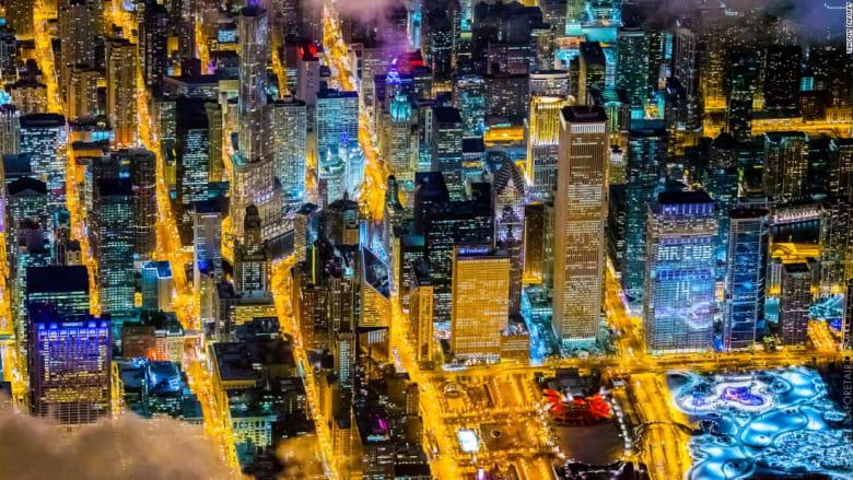 كيف تبدو هذه المدن من السماء؟