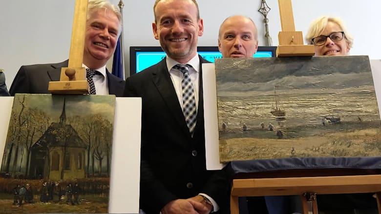 العثور على لوحات فان غوغ المسروقة لدى مجموعة مافيا إيطالية