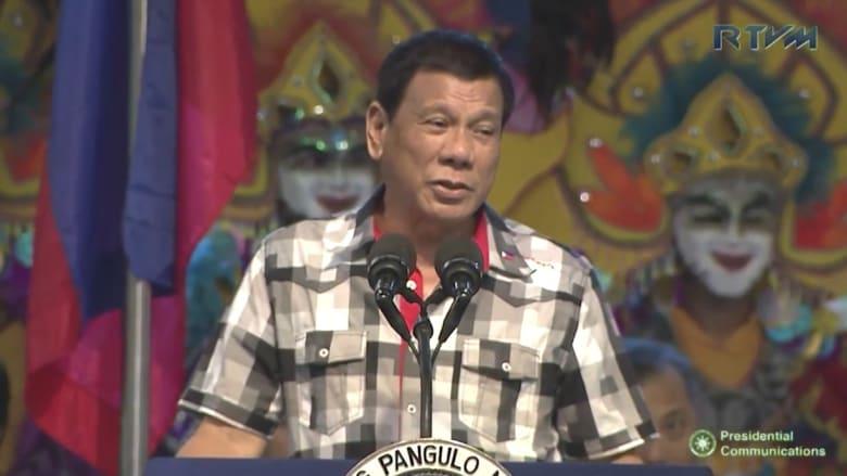 رئيس الفلبين يعتذر عن تشبيه نفسه بهتلر
