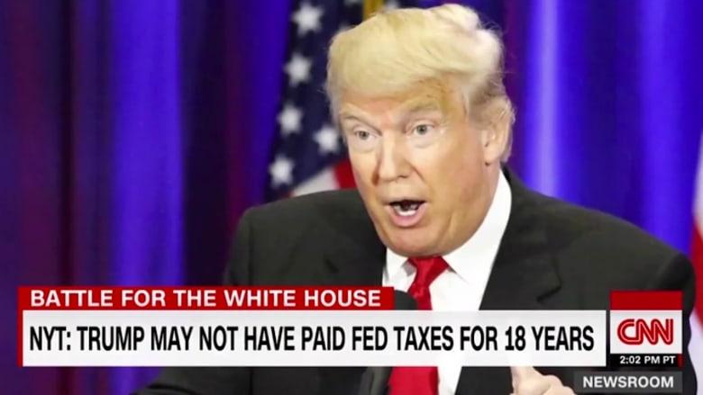 نظرة تدقق في ضرائب ترامب.. ورد حملته على التقرير