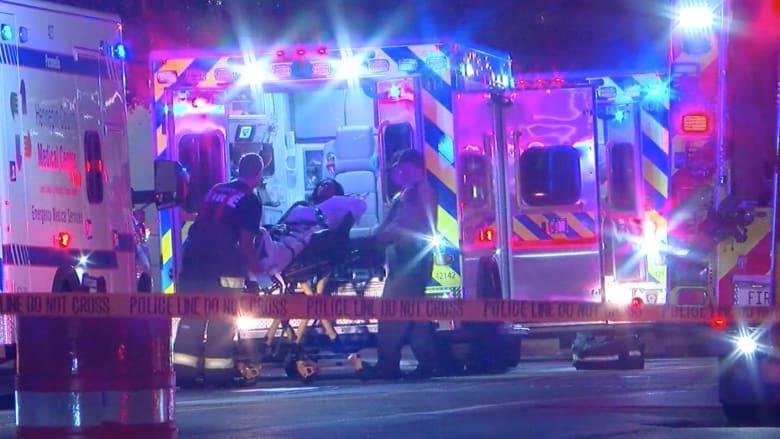 إصابة 6 أشخاص بحادثي إطلاق نار منفصلين في أمريكا