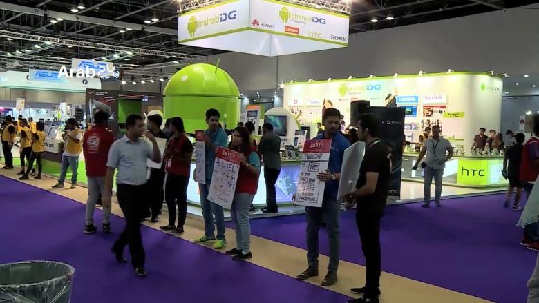 لقطات من معرض جايتكس شوبر في دبي