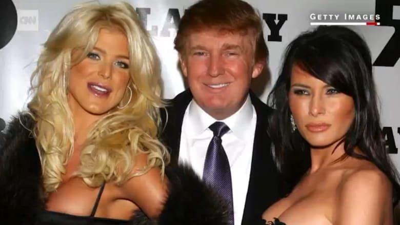 """شاهد دونالد ترامب في عدة فيديوهات لـ""""بلاي بوي"""".. هل واعد إحدى عارضاتها؟"""