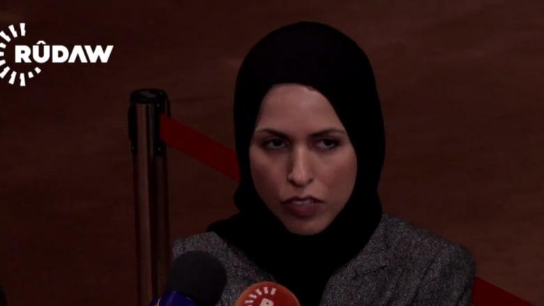مندوبة قطر بـUN تعلق على تصويت مصر لصالح مشروع القرار الروسي حول سوريا