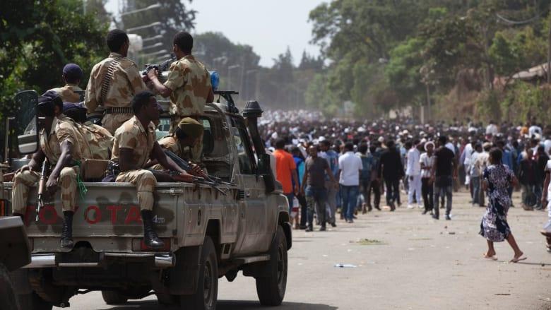 """أثيوبيا تتهم """"عناصر مصرية"""" بتسليح """"عصابات """" على أراضيها"""