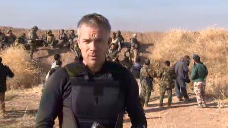 شاهد مراسل CNN في قلب الأحداث بالموصل