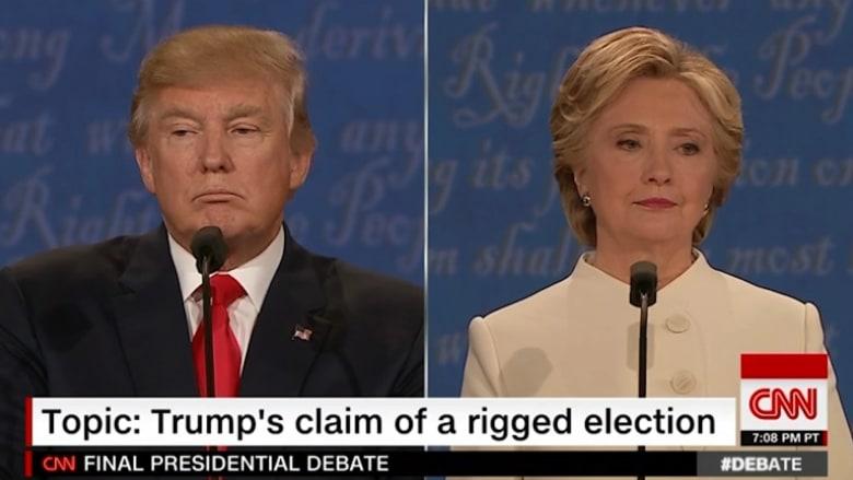 في تصريح غير مسبوق بتاريخ أمريكا.. ترامب حول قبول نتائج الانتخابات النهائية بسلام: لم أقرر بعد