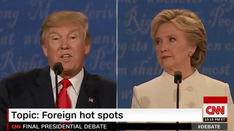ترامب: الفائز الأكبر من دخولنا الموصل هو إيران.. وأمريكا شاركت بالمعركة لتساعد انتخاب كلينتون