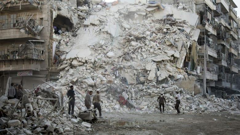 النظام يعود لقصف حلب وأمريكا تتهمه بضربة كيماوية جديدة