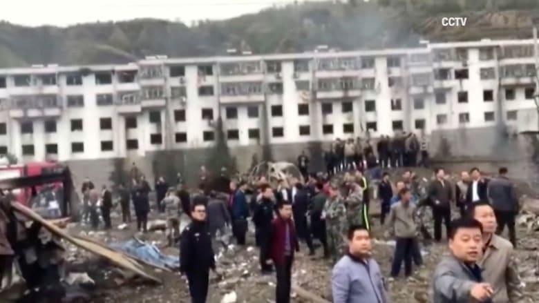 مقتل 14 شخصا إثر انفجار هائل في مجمع سكني بالصين