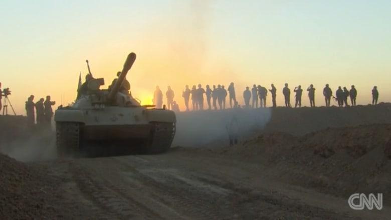 CNN تكشف عن الاستراتيجيات العسكرية في معركة الموصل