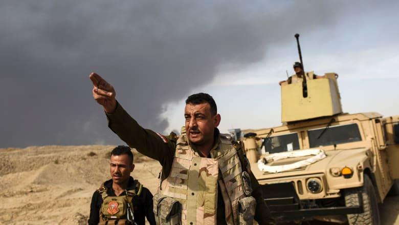 قائد قوات مكافحة الإرهاب العراقية لـCNN: نبعد 900 متر عن محيط الموصل.. والعبادي: سنقطع رأس الأفعى في الموصل