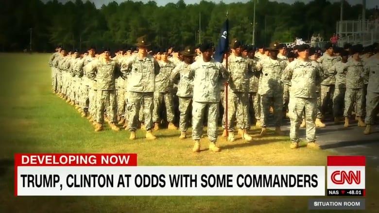 من هو المرشح الرئاسي الأنسب لقيادة الجيش الأمريكي؟