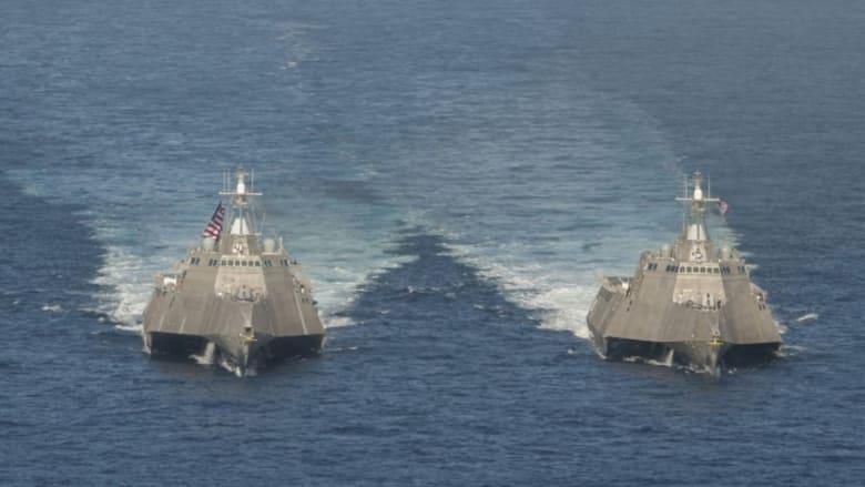 """""""سوء الحظ"""" يلاحق سفينة حربية كلّفت البحرية الأمريكية 360 مليون دولار"""