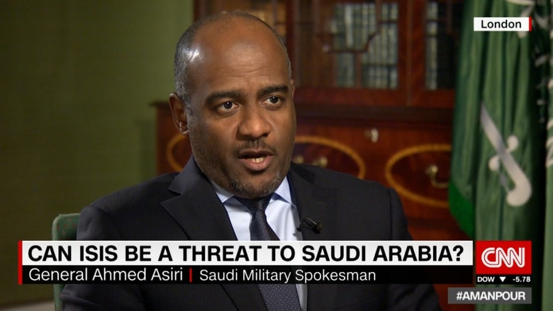 عسيري يرد لـCNN على البغدادي.. ويؤكد: السعودية تقود العالم الإسلامي