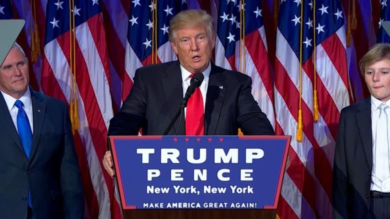 شاهد أهم المقتطفات لخطاب فوز ترامب بالرئاسة الأمريكية