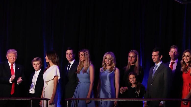 تتكون من 18 فردا.. تعرف على أسرة دونالد ترامب الرئاسية