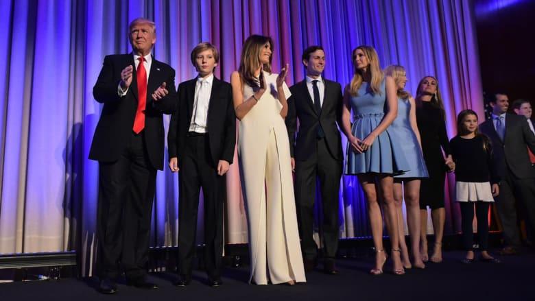 """تقارير: ترامب طلب تصريحات أمنية """"حساسة"""" لابنيه وابنته وصهره"""