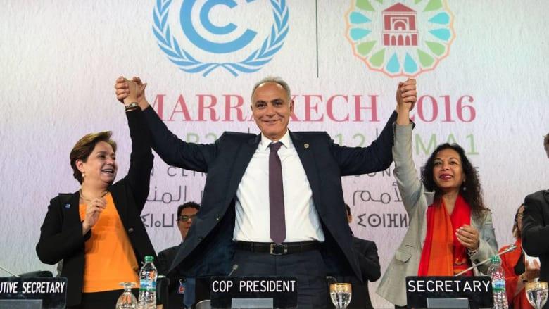 إعلان مراكش: درجة حرارة المناخ باتت مقلقة.. ويجب اتخاذ تدابير آنية