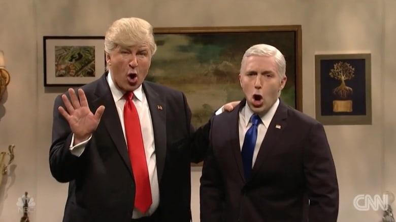 """ترامب"" في SNL: غوغل.. ما معنى داعش؟"