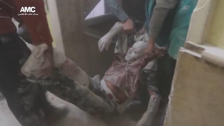 تقرير مروع عن مستشفى داخل حلب بعد القصف